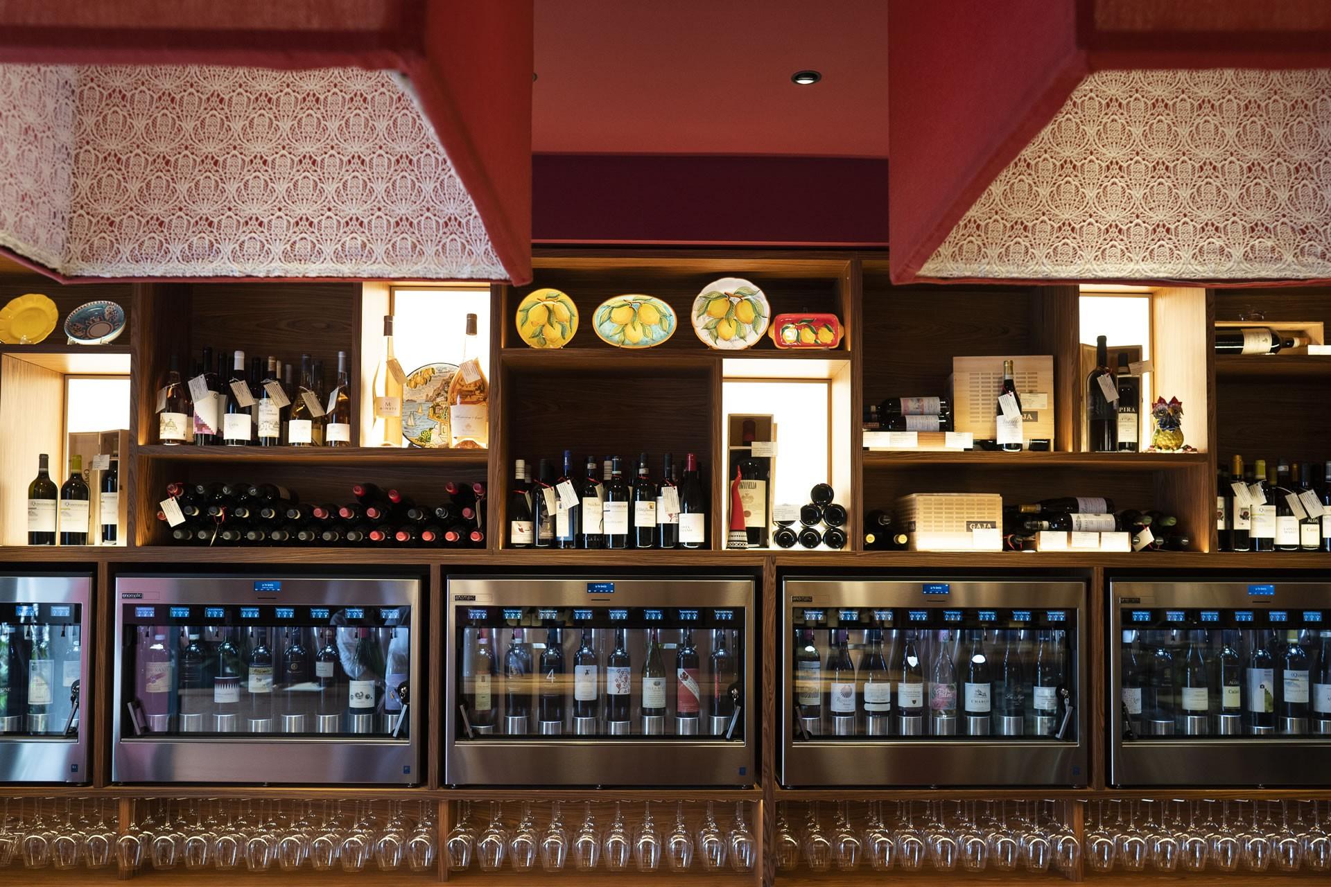 Wine Bar & Shop nel cuore di Positano